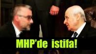 MHP'de istifa!