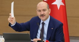 Soylu tartışmalara açıklık getirdi: 80 bin kişiyi sınır dışı edeceğiz İçişleri Bakanı Süleyman Soylu,