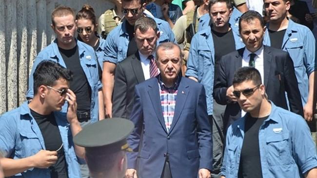Erdoğan'ın korumalarına hukuksuz 'koruma'