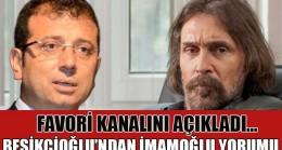 Erdal Beşikçioğlu'nun İmamoğlu ve İBB TV yorumu