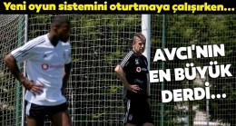 Abdullah Avcı'nın sıkıntısı Beşiktaş'ın solunda