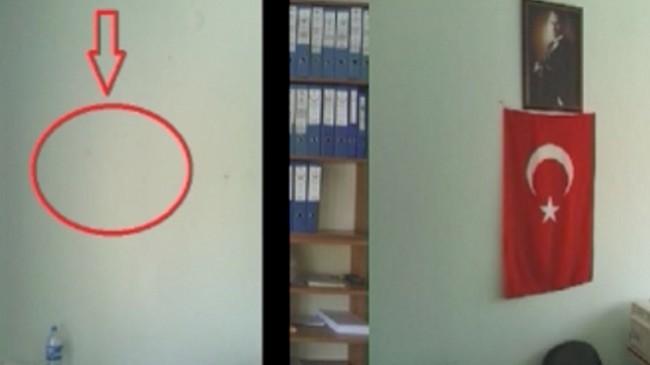 Devlet hastanesinde Atatürk'e ve Türk bayrağına savaş açtılar!