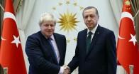 Son Dakika: Başkan Erdoğan'dan Johnson'a tebrik!