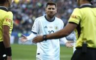 Messi'ye 3 ay futboldan men cezası