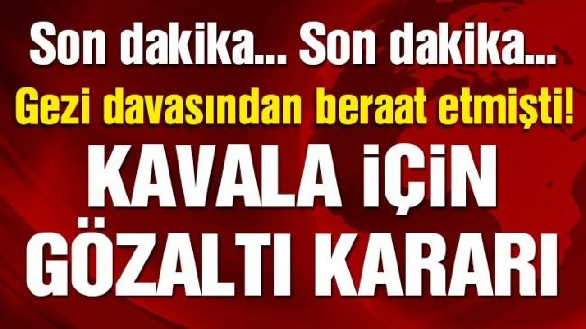 Başsavcılıktan Osman Kavala'ya gözaltı kararı