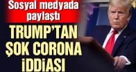Donald Trump'tan corona virüsü iddiası!