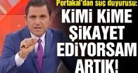 Fatih Portakal'dan CİMER'e suç duyurusu