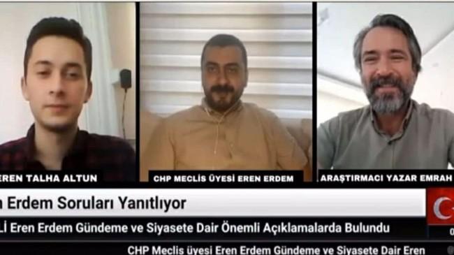 CHP Meclis Üyesi Eren Erdem : Ön Seçim Uygulaması Siyasette Gençlerin Önünü Açacaktır