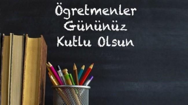 Yenilik Partisi Genel başkan yardımcısı Semahat Ceyhanlı. Öğretmenler Günümüz Kutlu Olsun