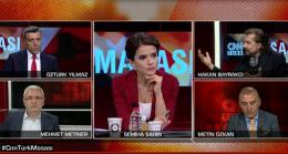 CNN Türk Canlı Yayınında Metin Özkan , Öztürk Yılmaz'a  İftira Attı ! Metin Özkan Rezil Oldu !
