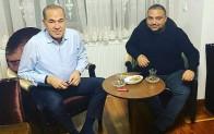 Aydoğan ve Sözlü bir araya geldi