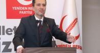 Fatih Erbakan: HDP'ye kapatma davası çözümsüzlüğe davetiyedir