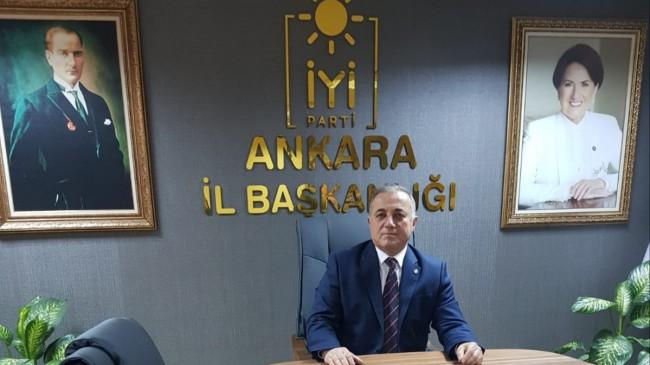 İYİ Parti Ankara İl Başkan Yardımcısı Hayati Güneş : RAMAZAN AYI SAĞLIK VE HUZUR GETİRSİN