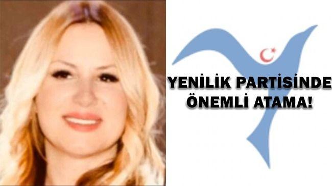 Yenilik Partisi'nde Önemli Atama