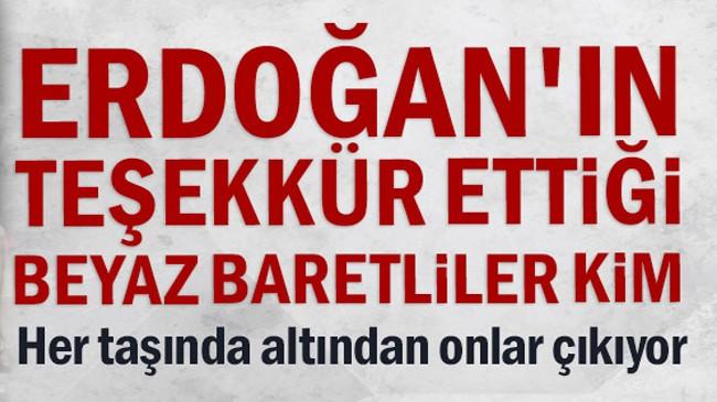 Erdoğan'ın teşekkür ettiği 'Beyaz Baretliler' kim?