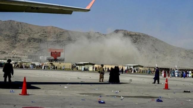 Kabil Havalimanı'nda patlama meydana geldi