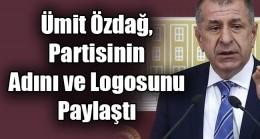 Ümit Özdağ, partisinin adını ve logosunu  paylaştı