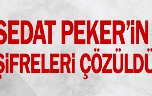 Sedat Peker'in şifreleri çözüldü