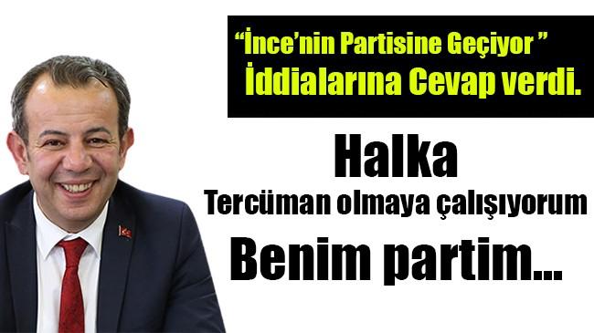 Tanju Özcan o iddialara cevap verdi…