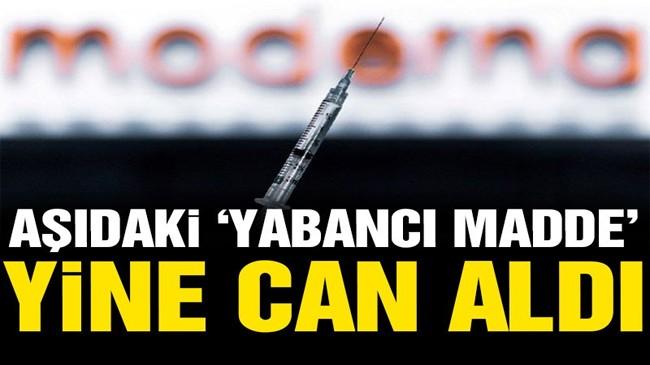Moderna'nın corona aşısını yaptıran 1 kişi daha öldü