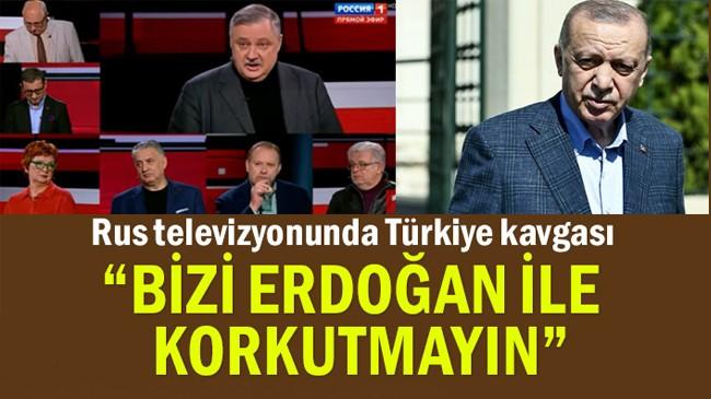 Rus televizyonunda Türkiye kavgası