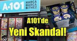 A101'deki dikkatli müşteri skandalı yakaladı