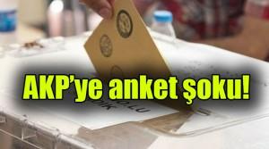 AKP'ye anket şoku