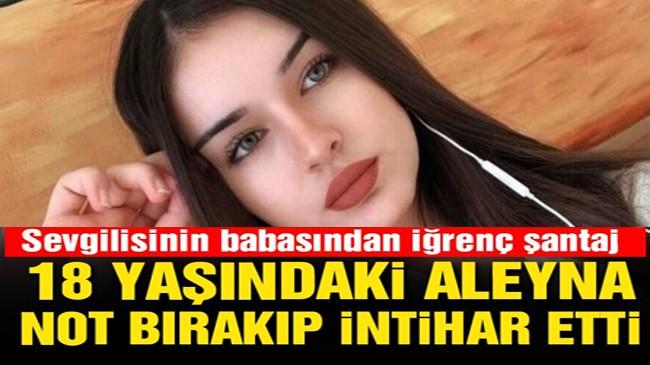 Genç kız not bırakıp intihar etti