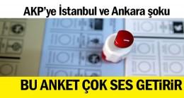 Bu anket çok ses getirir… AKP'ye İstanbul ve Ankara şoku
